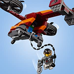 LEGO, police, city