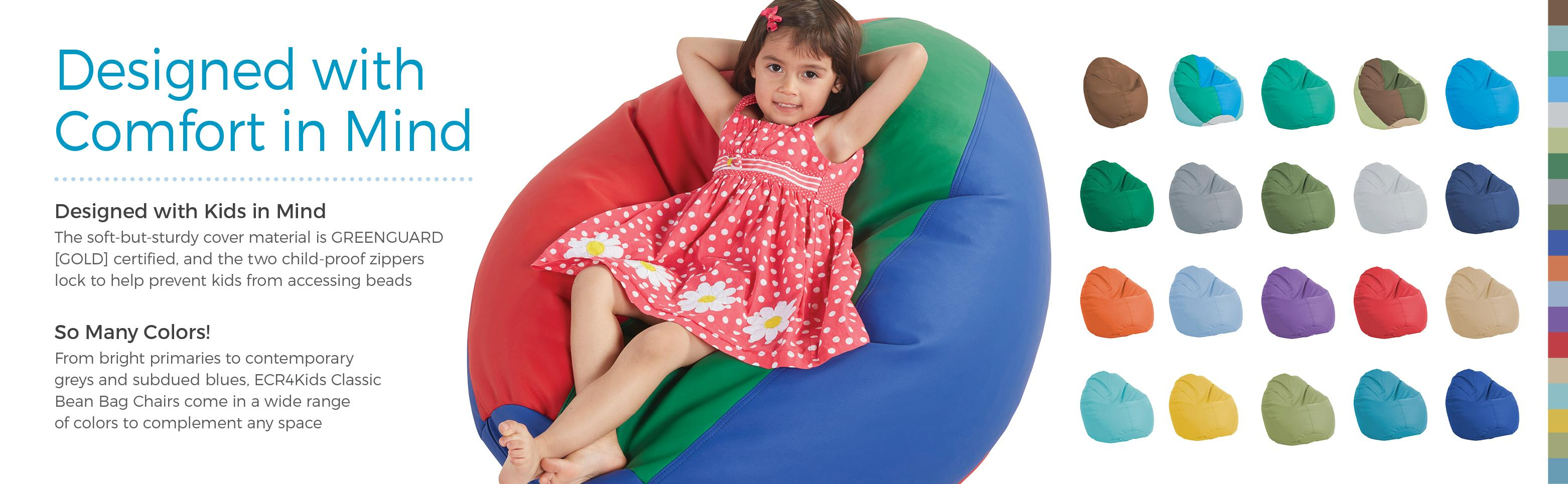 Pleasant Ecr4Kids Dew Drop Bean Bag Chair Green Andrewgaddart Wooden Chair Designs For Living Room Andrewgaddartcom