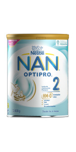 nan 2 infantil en polvo leche optipro sin aceite de palma
