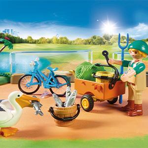 Playmobil Family Fun 70341 Mein großer Erlebnis-Zoo, Ab 4