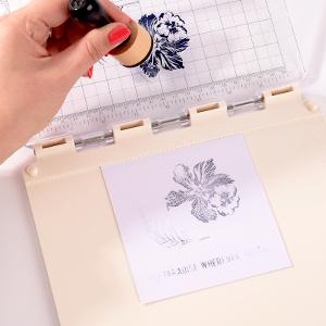 reink stamp; stampin up; stamp easy; vaessen creative; craft tool;