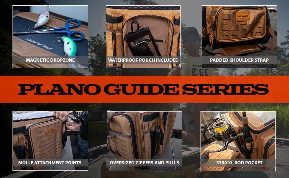 Plano Guide Series tackle storage, plano tackle bags, soft tackle storage bag, KastKing Piscifun