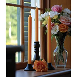 smooth finish arista beeswax dinner candles