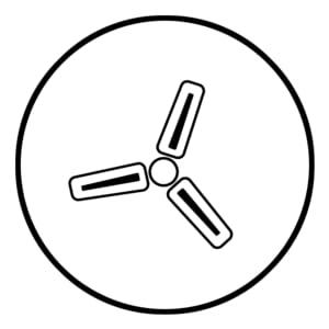 Bajaj Frore 1200 mm Ceiling Fan (White)- SPN FOR-1