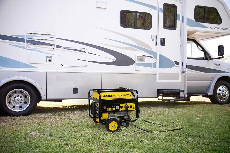 Amazon Com Champion 3500 Watt Rv Ready Portable Generator