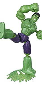 Bendy Figures; Hulk;