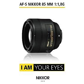 AF-S NIKKOR 85 mm 1:1,8G