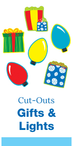 gifts and lights cut-outs