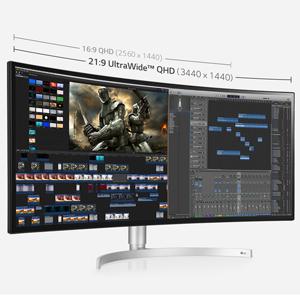 34 Inch UltraWide QHD