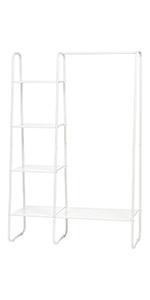 white garment rack, garment rack, metal garment rack small, small cloth rack, garment rack in closet