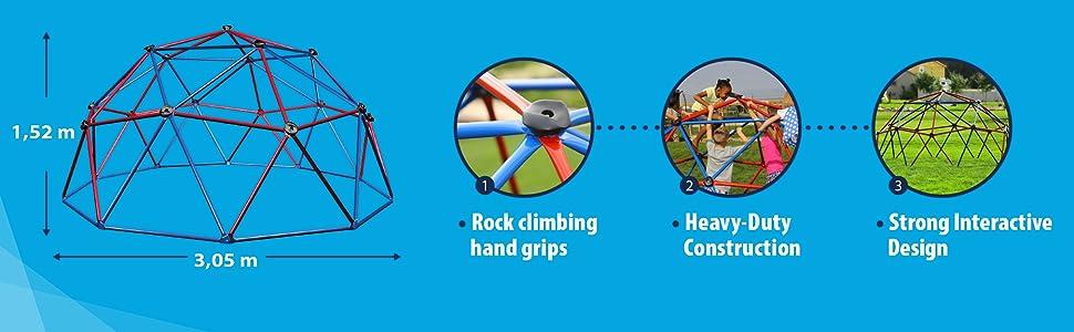 LIFETIME - Cúpula para Escalar: Amazon.es: Juguetes y juegos