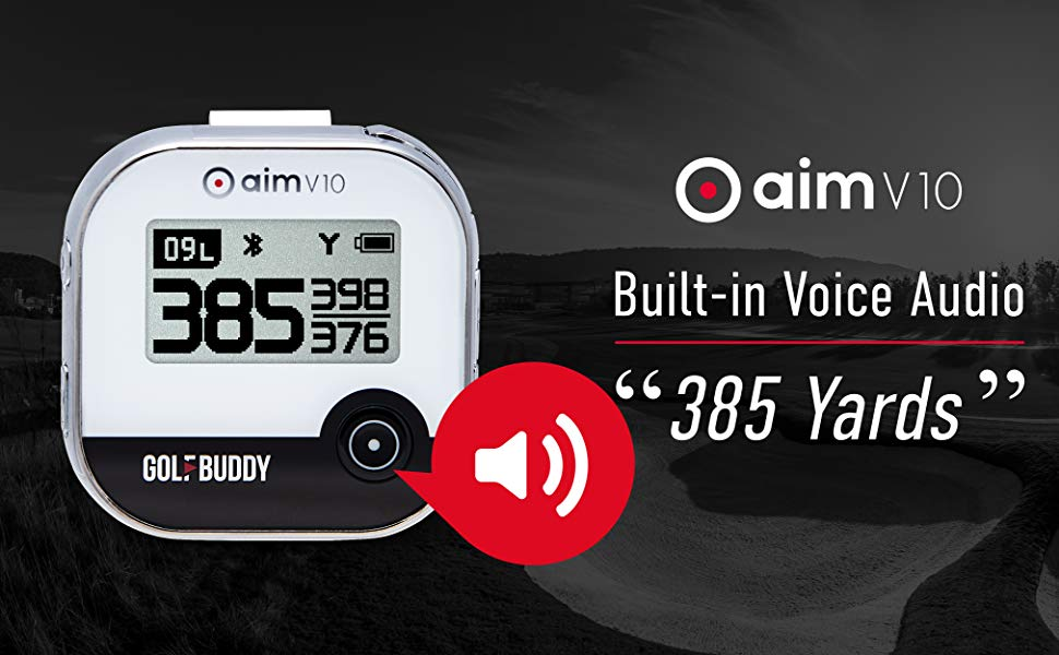 GOLFBUDDY GOLF GPS VOICE TALKING GPS