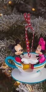 Mickey and Minnie Disney Christmas Ornament