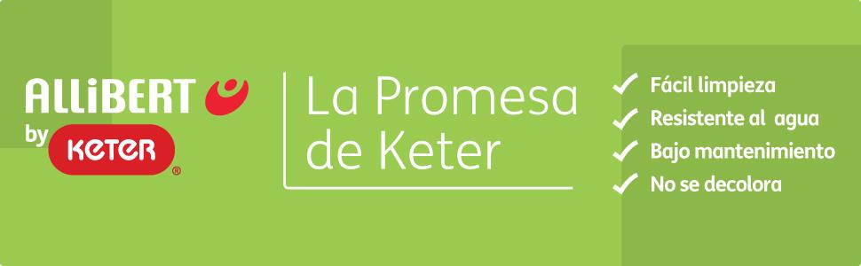 Keter - Conjunto de jardin de 4 plazas Tarifa Lounge con cojines ...