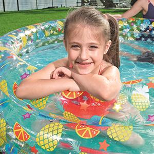 Sturdy Vinyl Durable Paddling Pool for Kids