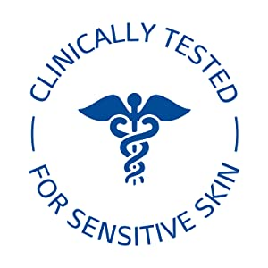 Clinically tested for sensitive skin