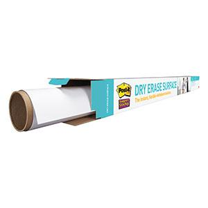 Unroll Post-it Dry Erase Surface