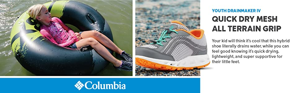 Columbia Youth Drainmaker IV Shoes