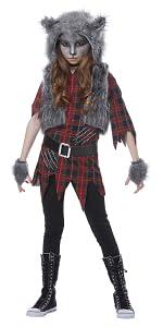 Werewolf, Girl's Costume, Halloween, Animal Costume, Cute Costume, Wolf, She-Wolf, Haunted House