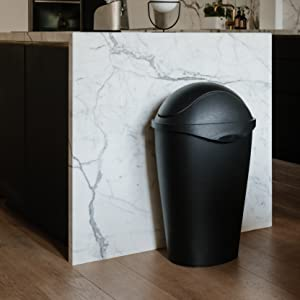 trash can kitchen, large trash can, trash can, trash can with lid, trash can 13 gallon, garbage can