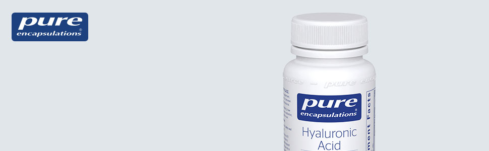 Pure Encapsulations - Hyaluronic Acid - Supports Skin Hydration, Joint Lubrication and Comfort*