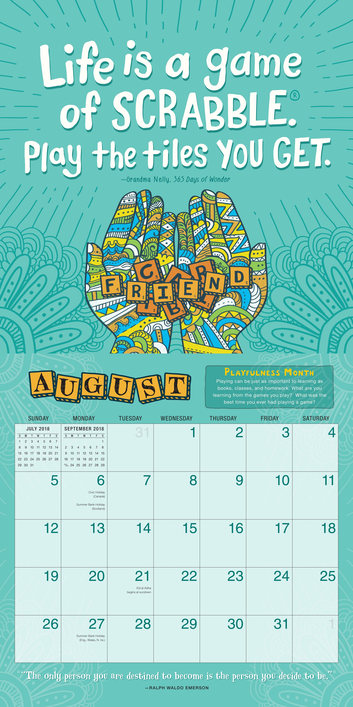 Calendar Book 2018 : Wonder wall calendar r j palacio