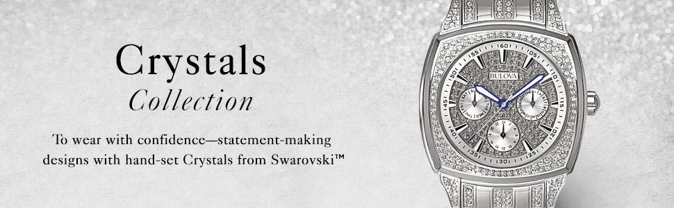3691ee5db57ac Bulova Men's 40mm Crystal Multifunction Watch