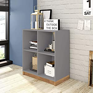 Includes 4 Compartment to Store Books and More!