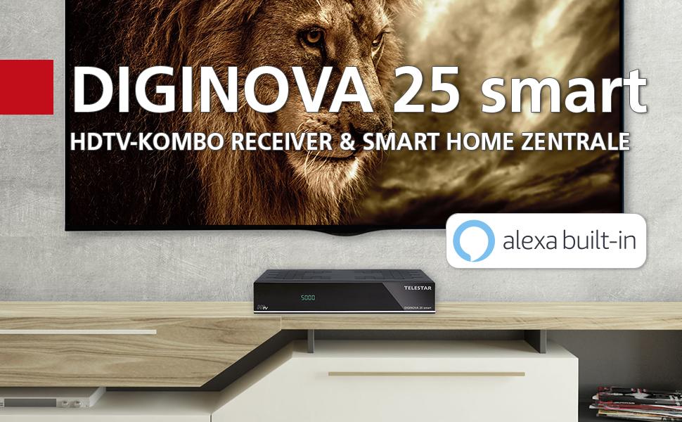 Telestar Diginova 25 Smart Incl Smart Voice Kit For Elektronik
