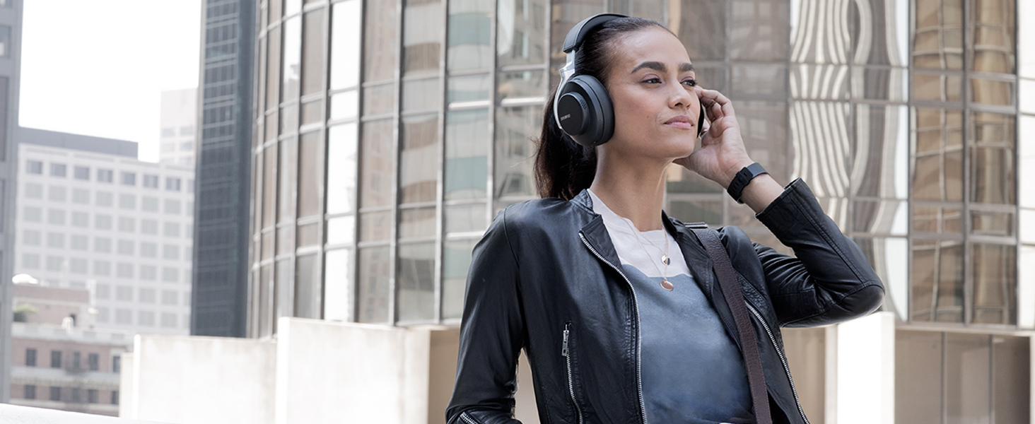 shure aonic 50 wireless headphones Commuting