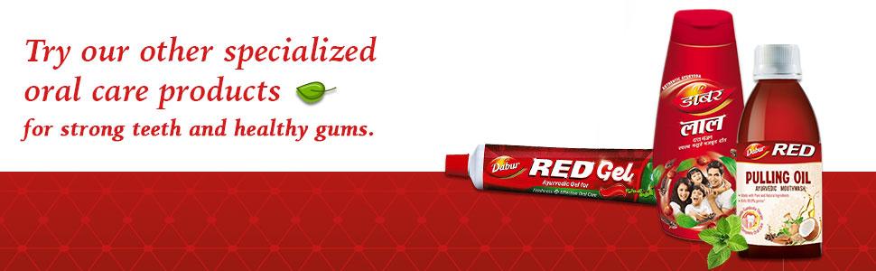 toothpaste; toothpastes; red paste; ayurvedic paste; herbal paste