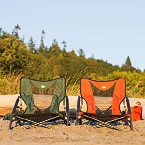 Terrific Cascade Mountain Tech Compact Low Profile Outdoor Folding Camp Chair With Carry Case Gmtry Best Dining Table And Chair Ideas Images Gmtryco