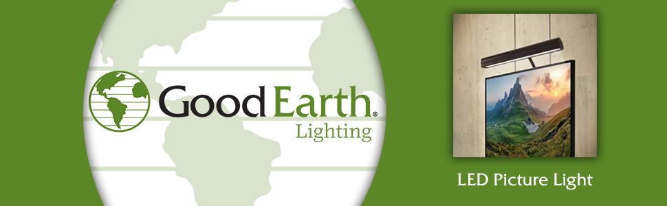 good earth lighting led picture light under counter fixtures