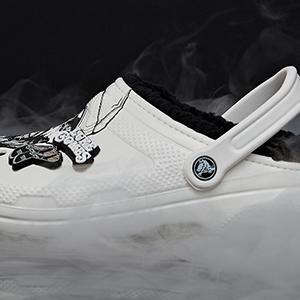 size 9 Luke Men`s slip on trainers White