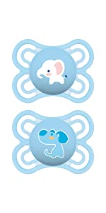 Amazon Com Mam 1723 012 0 1 Clear 0 6 Months Pacifiers