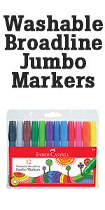 jumbo markers, washable markers, washable markers for kids