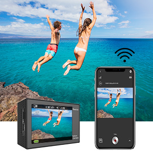 EK7000 Wi-Fi Sports Action Camera