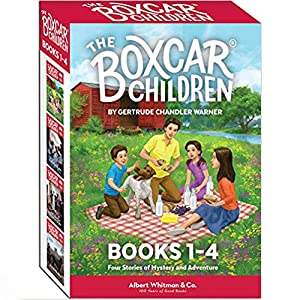 The Boxcar Children Books 1-4 - The Boxcar Children Mysteries Boxed Set #13-16