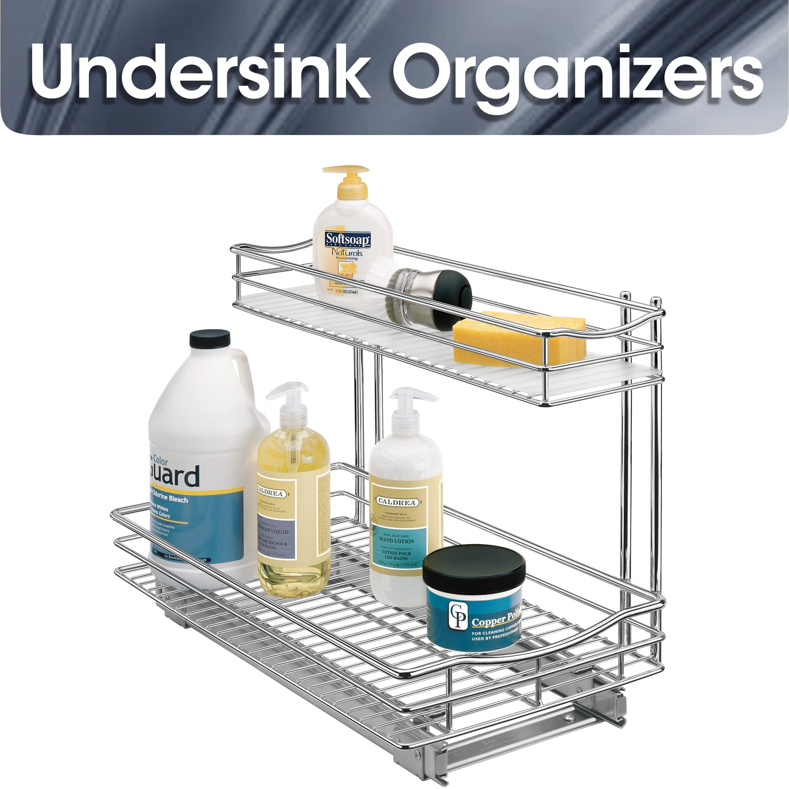 Lynk 11 Inch Roll Out Under Cabinet Double Drawers