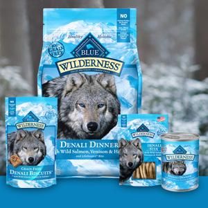 Amazon Com Blue Wilderness Grain Free Denali Dinner With Wild