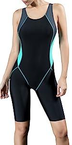 Amazon.com: Uhnice Women's One Piece Swimsuits Racing
