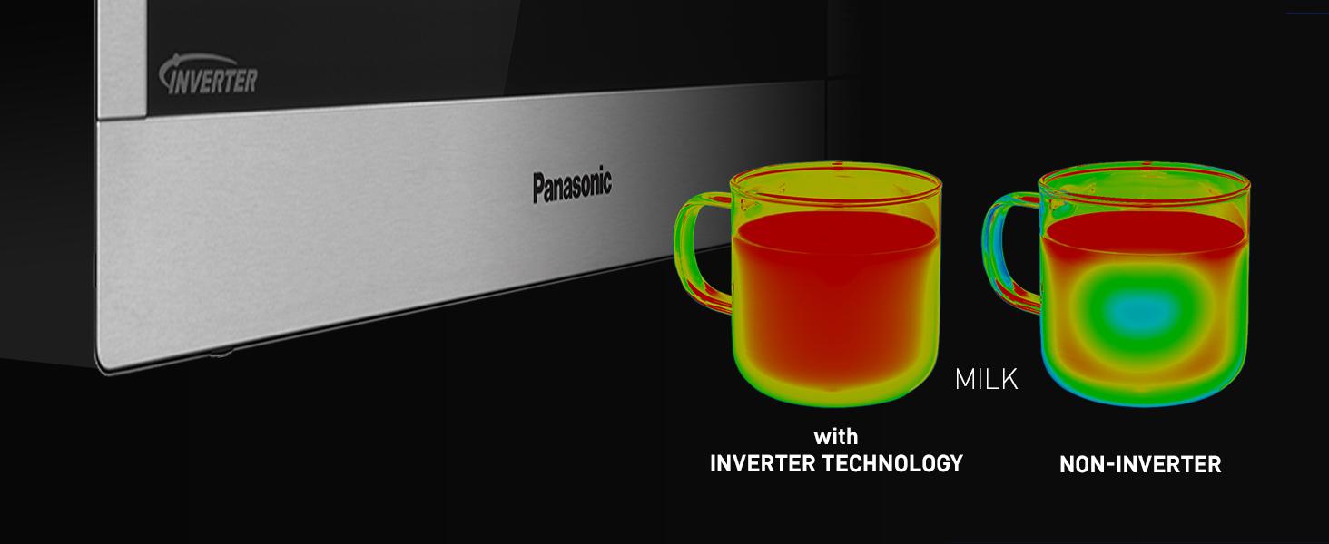 Amazon Com Panasonic Compact Microwave Oven With 1200