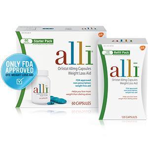 Amazon.com: alli Diet Pills for Weight Loss, Orlistat 60