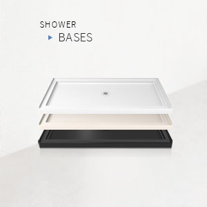 DreamLine, shower door, shower, rameless shower door, frameless sliding shower door, frameless