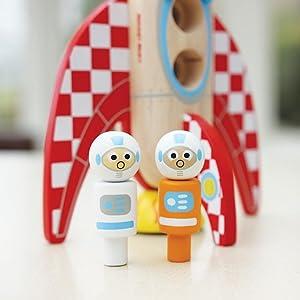 Amazon.com: índigo Jamm Rocket Ricky Madera Playset: Toys ...