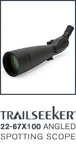 noire Celestron 52330 TrailSeeker 65 Longue-vue 45 degr/és