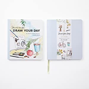 draw your day;sketchbook;gifts for artists;gifts for kids;drawing sketchbook;blank sketchbook;art