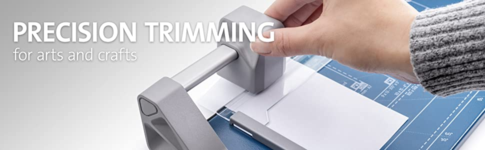 paper cutter, paper trimmer, rolling trimmer, rotary cutter, dahle 508, photo trimmer, craft trimmer