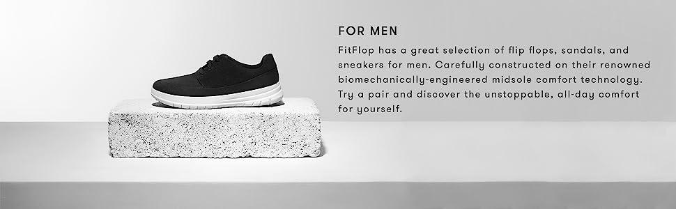 b3b208e2f631 Amazon.com  FitFlop Men s Iqushion Ergonomic Flip-Flops  Shoes