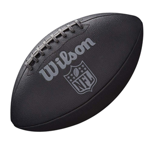 Wilson WTF1847XB Pelota de fútbol Americano NFL Jet Black JR Cuero ...